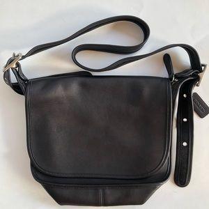 Coach Legacy Black Vintage Leather Purse